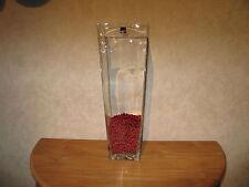LEONARDO *NEW* Vase carré 48cm ( sans les perles )