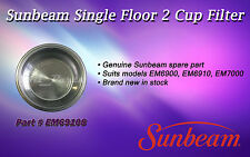 IN STOCK GENUINE SUNBEAM COFFEE MAKER TWO CUP FILTER - PART EM69108