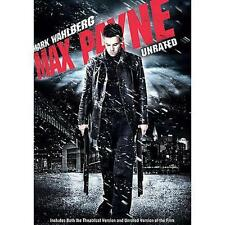 Max Payne (DVD, 2009, Widescreen, Unrated) Region 1 DVD English & Spanish Audio