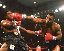 1986 Heavyweight Boxers MIKE TYSON vs Trevor Berbick Glossy 8x10 Photo Print