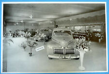 """12 By 18"""" Black & White Picture 1941 Ford And Mercury Show Room"""