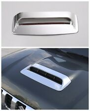 ABS Chrome Air Flow Intake Hood Scoop Vent Bonnet Cover for Suzuki Jimny 12-15
