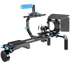 DSLR Rig Kit Camera Cage Video Support for Canon Nikon Sony etc  US Fast Ship