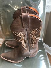 Frye boots (Authentic) Womens-10 Cognac