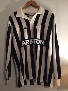 Juventus 1984-1985 Ariston Jersey Shirt Long Sleeve Vintage Rare