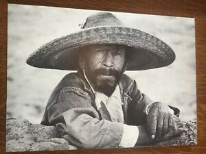 Mexican Peasant Carl Frank 319 - Black And White Print Photograph Picture