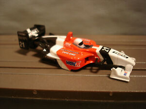 TOMY AFX H.O. SCALE SLOT CAR BODY ONLY F-1 DPO #21 FLOW WHITE-RED-BLACK NEW