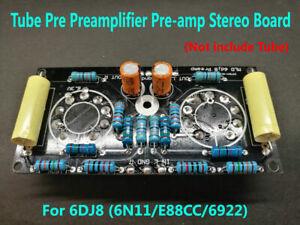 6DJ8 (6N11/E88CC/6922) Tube Pre Preamplifier Pre-amp Tube Preamp Stereo Board