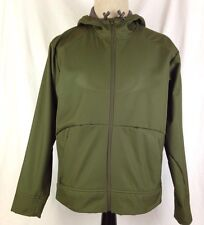 Salomon Act Therm Mens Jacket Full Zip Jacket M Size Green Polyester Hoodie Coat