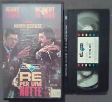 VHS FILM Ita Commedia RE PER UNA NOTTE martin scorsese ex nolo no dvd(VH39)