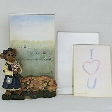 Boyds Bears Picture Frame Abby T Bearymuch... Yours Truly 27360 Retired