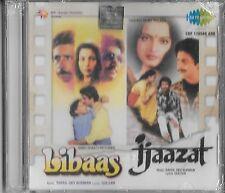 LIBAAS / IJAAZAT - 2FILM SONG IN ONE CD -.NEW BOLLYWOOD SARE GAMA SOUND TRACK CD