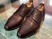 "ALLEN EDMONDS BURGUNDY ""CLIFTON""  DERBY DRESS SHOES SIZE 10D"