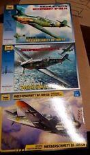 Zvezda Special Messerschmitt offer 4802 4806 4816 BF-109 F2, F4, G6 1/48