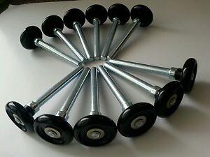 Wayne Dalton Garage Door Rollers - Wheels - Quiet Nylon -12 Qty