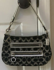 Coach Poppy Signature Top Handle Purse Pouch w/Tags & Dust Bag # 44064