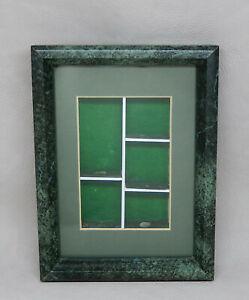 Vintage OOAK Picture Frame W Shelves for Dollhouse Miniatures 1:12