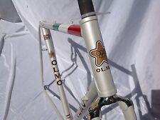 OLMO PROFESSIONAL PEARL WHITE ITALIAN FLAG White Frame & Forchette Anni Ottanta 54.5CM C-T-C