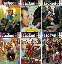 JACKED (6) issue comic set #1 2 3 4 5 6 Vertigo 1st print