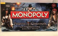 "Pirates of the Caribbean Monopoly ""On Stranger Tides"" Collectors Edition"
