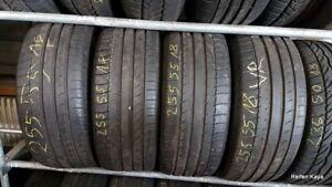 4 x Sommerreifen 255 55 18 109 Y Michelin Latitude Reifen Satz 6mm