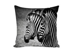 Floral Decor Accent Zebra Decor Tropical Decorative Pillow Zebra Lover Gift