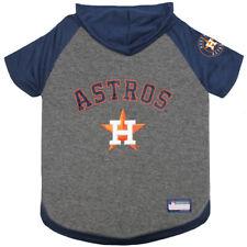 Houston Astros MLB Sporty Dog Pet Hoodie T-Shirt Sizes XS-L