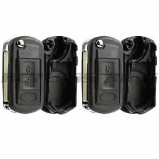 2x Replacement Remote Key Fob Entry Shell Case for Land Rover LR3 Range Rover