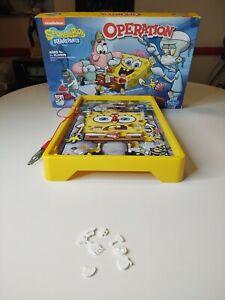 Missing Pieces Nickelodeon SpongeBob SquarePants Operation Skill Game
