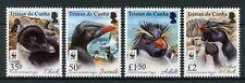 Tristan da Cunha 2017 MNH Rockhopper Penguins WWF 4v Set Birds Penguins Stamps