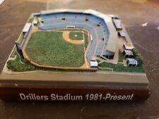 New listing Tulsa Drillers Replica Stadium minor league baseball mini replica model SGA rare