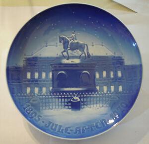 Bing & Gröndahl PIATTO DA COLLEZIONE DI NATALE DENMARK 1895-1970 Ø 23 Cm ( (VPP)