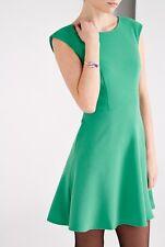 Louche Emerald Green Orna Plain Dress Size 14 BNWT RRP £49 Uk Freepost