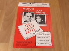 Richard TODD & Lana MORRIS in This Happy Breed 1980 New Theatre HULL Poster