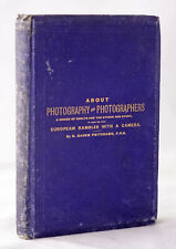 *RARE* 1883 About Photography & Photographers by H. Baden Pritchard