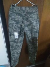 TROUSERS MENS UTILITY AIR FORCE CAMO PANTS, 32 LONG 32X34, NEW WITH TAGS.