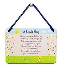 Metal Sign Special Words - A Little Hug Shabby Chic