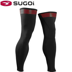 Sugoi Rs Midzero Thermal Leg Warmers - Black/Red (99962U)