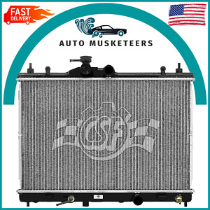 Radiator-1 Row Plastic Tank Aluminum Core CSF 3448 Buick Chevrolet  Oldsmobile