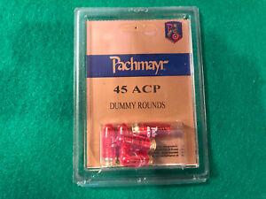 Pachmayr .45 ACP Dummy Rounds, NIP