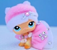 For Littlest Pet Shop Custom Accessories Collar Bow Outfit Clothes NO LPS