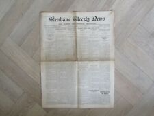 More details for old irish vintage newspaper - strabane weekly news - tyrone and donegal 1940