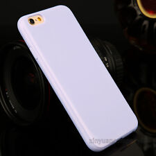 Ultra Thin Slim Soft TPU Silicone Case Cover for Apple iPhone 5 SE 6 6s 7 8 Plus