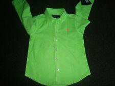 Ralph Lauren Girls' Long Sleeve Sleeve Shirts & Blouses (2-16 Years)