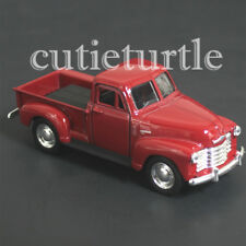 "4.75"" Welly 1953 Chevy 3100 Pick Up Truck Diecast Toy 43708D Red"