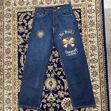 Von Dutch Mens Jeans Patch Vintage 32w Made In USA