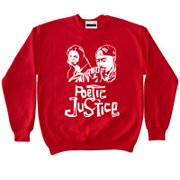 Poetic Justice Tupac Crewneck To Match Retro Jordans 11 Win Like 96 Gym Red