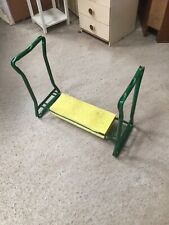 Used  Fold Up Folding Garden Gardening Kneeler Aid Pad 27/7/F