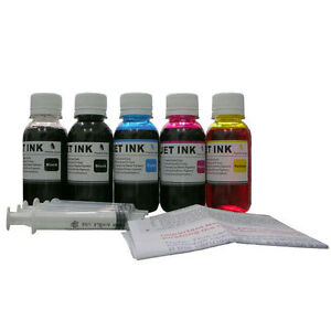 500ml ND® Refill ink for Canon HP Lexmark Brother printer Cartridge Black Color