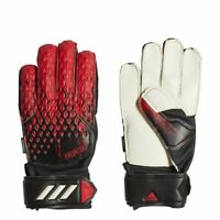 Adidas Fußball Predator 20 Match Fingersave Torwarthandschuhe Kinder rot schwarz